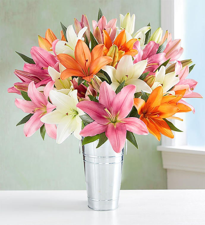 Vibrant Summer Lily Bouquet