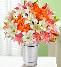 Vibrant Summer Lilies, Double Your Bouquet