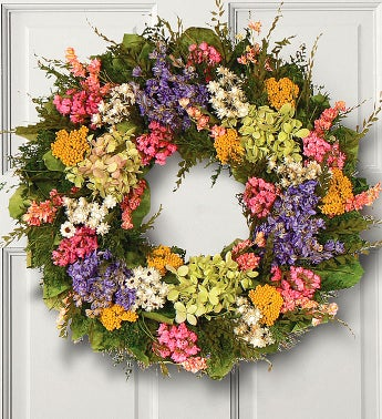 Florence Garden Preserved Wreath -16