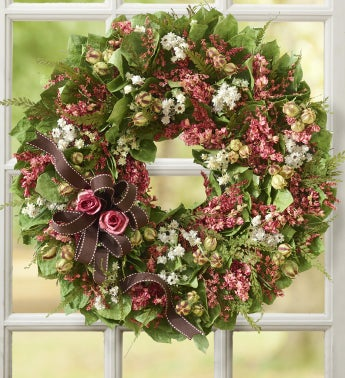 Chocolate Sweets Preserved Wreath