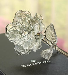 Waterford® Glass Rose