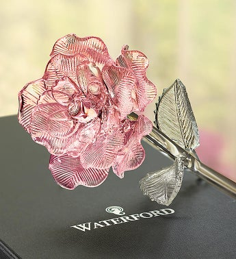 Waterford® Crystal Rose