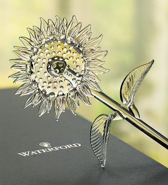 Waterford® Glass Sunflower