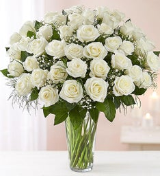 Ultimate Elegance™ Long Stem White Roses