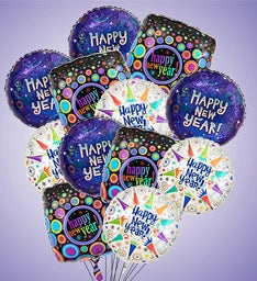 Air-Rangement® Happy New Year Mylar Balloons