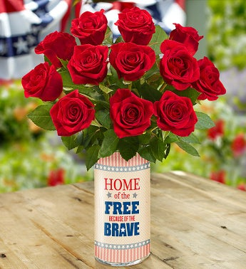 Home of the Free Because of the Brave Bouquet