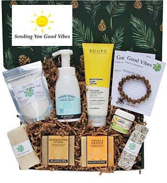 """Sending Good Vibes"" Men's Gift Box"