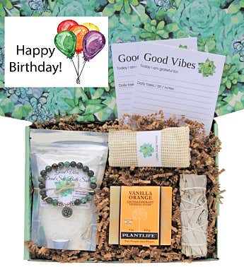"""Happy Birthday"" Good Vibes Women's Gift Box"