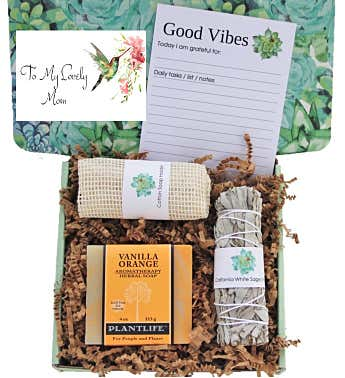 """To My Lovely Mom"" Good Vibes Gift Box"