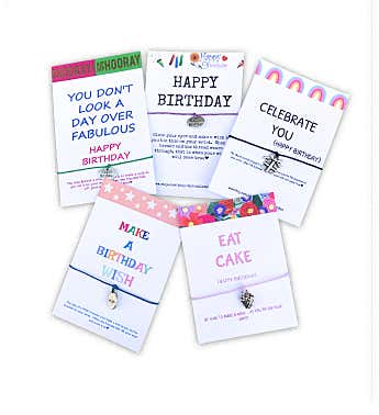 Birthday Wish Bracelet Pack