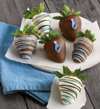 Father's Day Chocolate-Covered Strawberries
