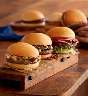 Gourmet Burger Assortment