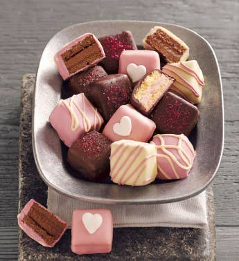 Valentine39s Day Petits Fours