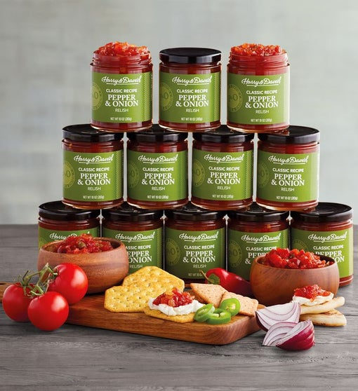 12 Pack Pepper and Onion Relish