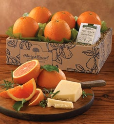 Cara Cara Oranges and TouVelle® Cheese