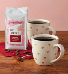 Heart Mugs and Coffee