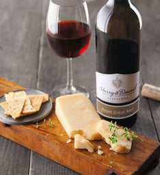 Sartori® Asiago Cheese and Harry & David Royal Crest Red Blend