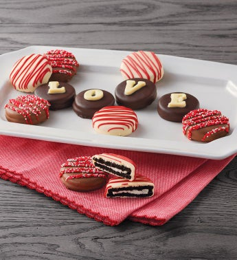 34LOVE34 Chocolate-Covered Cookies