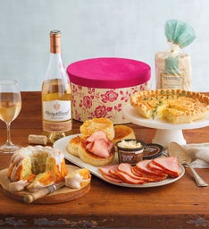 Mother's Day Brunch Hatbox with Wine