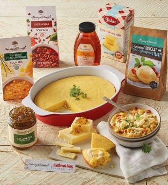 Southern Living Soup Cornbread and Biscuits Gift