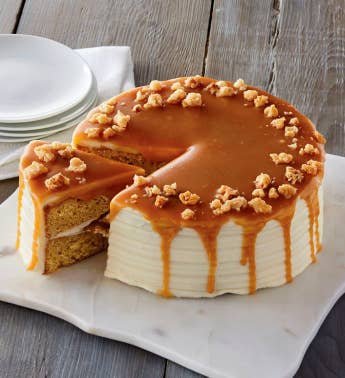 The Royal Touchtrade Macadamia and Salted Caramel Cake