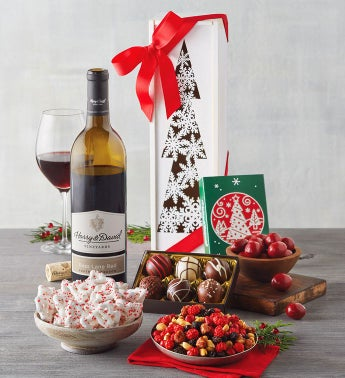 Christmas Tree Wine Gift Box
