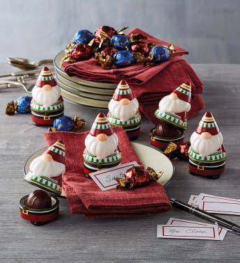 Gnome Truffle Holder with Truffles