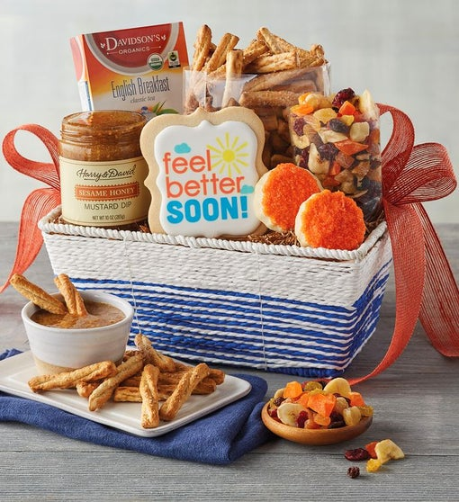 """Feel Better"" Gift Basket"
