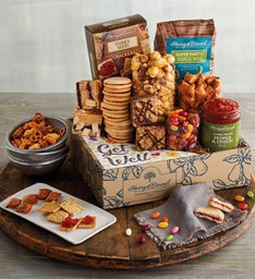 Get Well Deluxe Sweet and Salty Gift Box