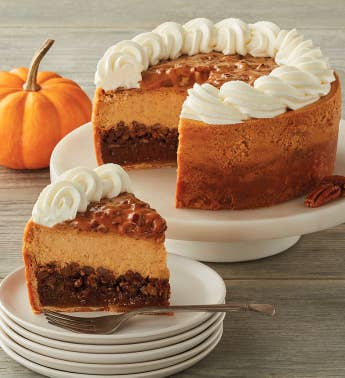 The Cheesecake Factory174 Pumpkin Pecan Cheesecake - 734