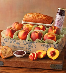 Peaches and Loaf Cake
