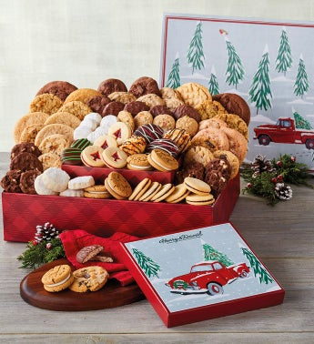 Deluxe Christmas Cookie Party Gift