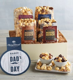 Moose Munch® Premium Popcorn Father's Day Gift Box