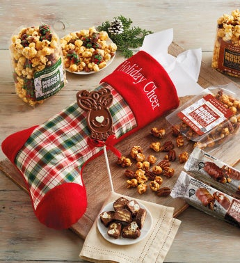 Moose Munch174 Christmas Stocking