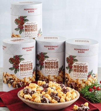 Moose Munch174 Peppermint Bark Premium Popcorn