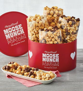 Moose Munch174 Premium Popcorn Valentine39s Day Tin