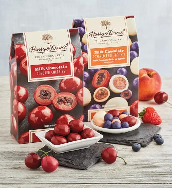 Pick Two Chocolate-Covered Fruit Boxes