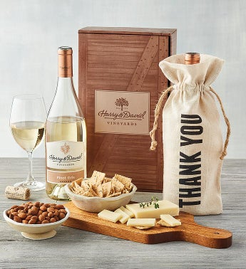 Thank You White Wine Gift Box