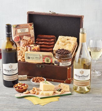 Sweet  Savory Chest with Wine