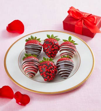 Cupid39s Choice Chocolate-Covered Strawberries 8211 6 Count