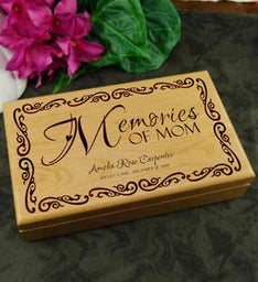 Memories of Mom Keepsake Box