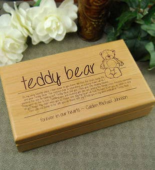 Teddy Bear Keepsake Box