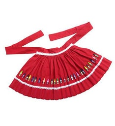 Childs Crayon Apron