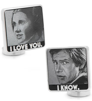 I Love You I Know Cufflinks