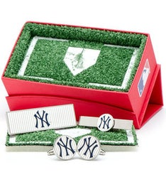 Yankees Pinstripe 3-Piece Gift Set