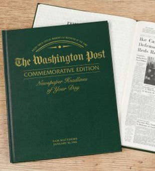 Washington Post Remember When Commemorative Book