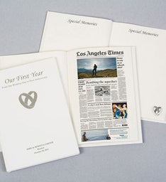 Washington Post Our First Year Keepsake Book