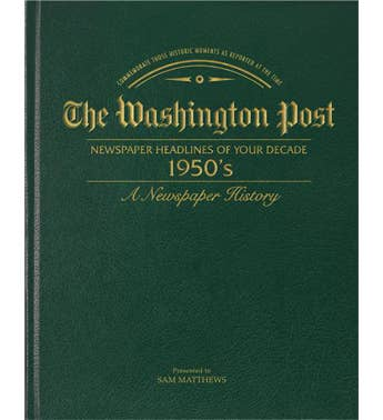 Washington Post 50's Decade Book