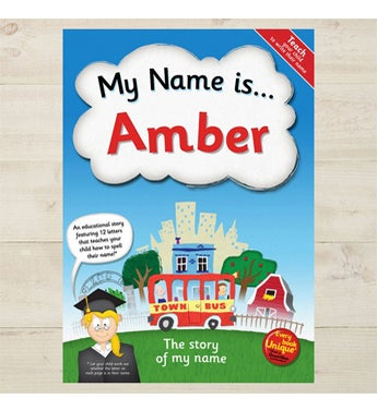 Personalized My Name Is... Hardback Book