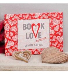 Personalized Book of Love Artwork